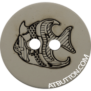 Two Hole Fish Button Style#231