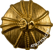 Gold Rope Shank Button Style #252