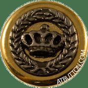 Crown Metal Button Style #278