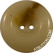 Two Hole Beige and Brown Plastic Button Style #290