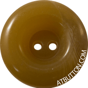 Two Hole Caramel Plastic Button Style #291