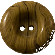 Two Hole Striped Plastic Button Style #295