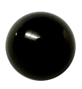 Round Black Shank Button #396
