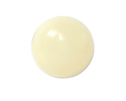 White Round Shank Button #391