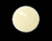 White Round Shank Button #391