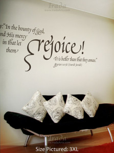 Rejoice - Decal