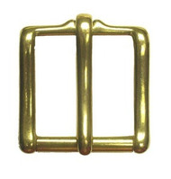 "1-1/4"" #49 Solid Brass Roller Buckle"