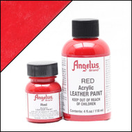 Angelus 4 oz. Acrylic Paint Red