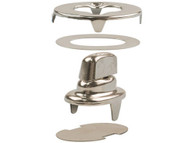 Common Sense Fastener Solid Brass Nickel