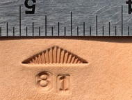 Brooks #81 Lined Triangle Stamp