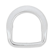"1-1/4"" SS Beveled Saddle Dee"