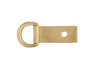 "5/8"" Solid Brass Clip and Dee"