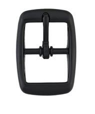 """1"""" #145 Black Anodized Buckles"""