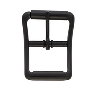 "1"" #150 Black Anodized Roller Buckles"