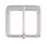 """1-1/4"""" 1550 Chrome Solid Brass Buckle"""