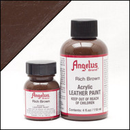 Angelus 1 oz. Acrylic Paint Rich Brown