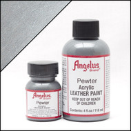 Angelus 1 oz. Acrylic Paint Pewter