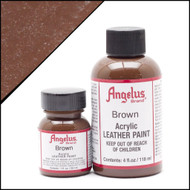 Angelus 1 oz. Acrylic Paint Brown