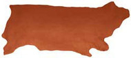 Wickett & Craig Chestnut Saddle Skirting 14/16 Ounce Heavy