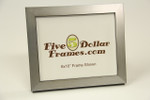 """80802 1.25"""" Silver Contemporary Shadow Box Picture Frame"""