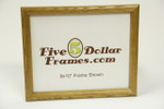 "SM OAK .75"" Small Natural Oak Picture Frame"