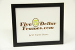 "246-29 .75"" Small Satin Black Studio Picture Frame"