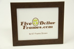 "26743 1.25"" Flat Walnut Picture Frame"