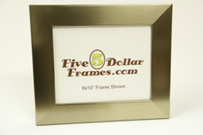 """74963 2"""" Champagne Brushed Silver Picture Frame"""