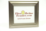 "800-495 2.25"" Silver Contemporary Picture Frame"