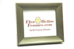 "203-512  2"" Deep Silver Shadowbox /Canvas Picture Frame"