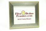 """43139 2"""" Vintage Silver w/Step Picture Frame"""