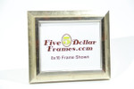 "10066 1.75"" Classic Silver Shadowbox/Canvas Picture Frame"