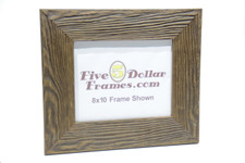 800-720 3 in. Distressed Wide Pinewood Picture Frame