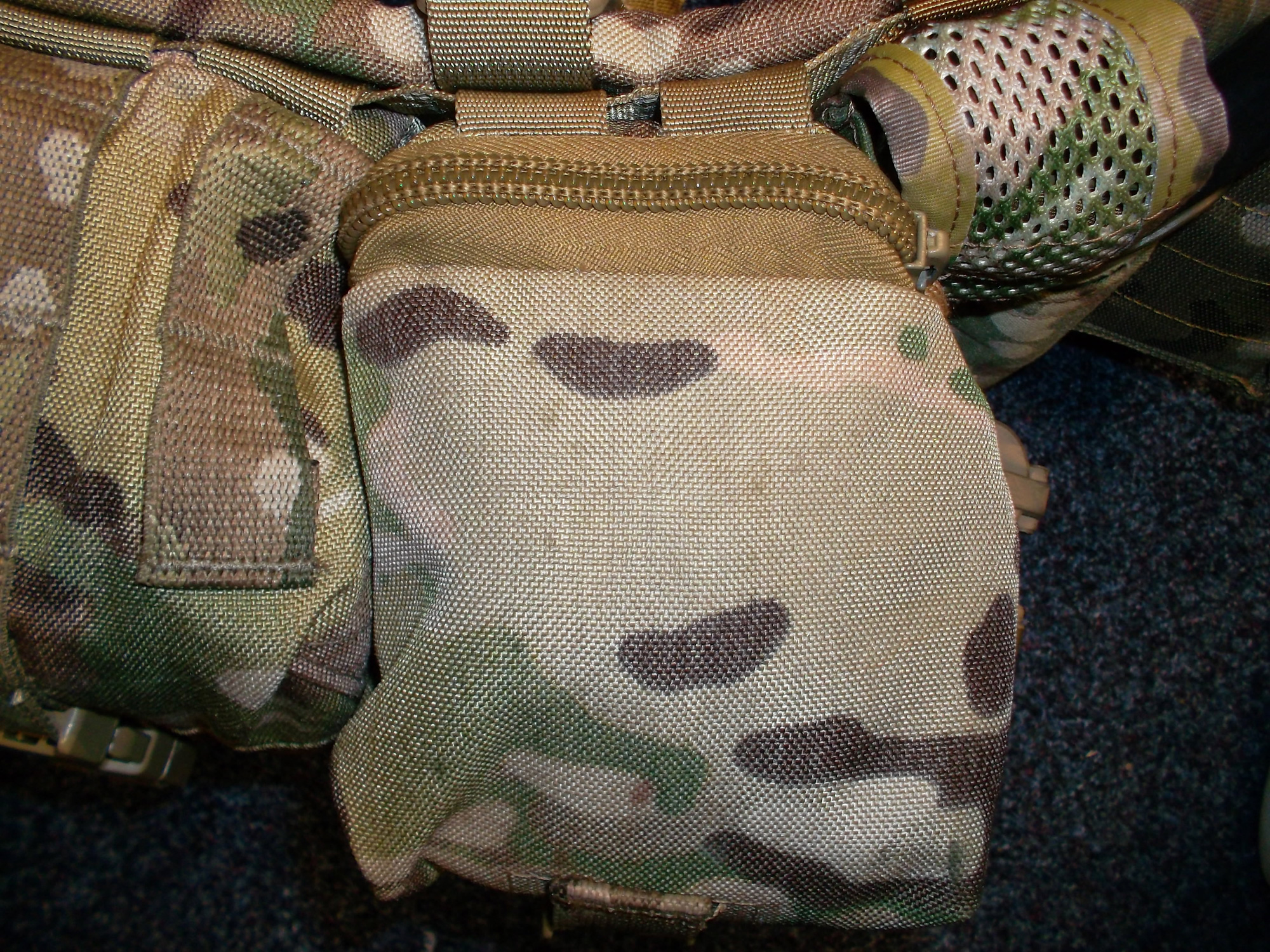 Vertical Lidded with Stealth Admin Pouch