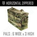 Horizontal Utility Pouch (6x3)- Multicam