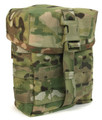 Large Lidded Utility Pouch - QASM Buckle