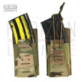 Laminate Elastic 5.56 Magazine Pouch, Single/Double/Triple
