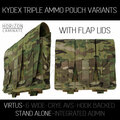 HL - VIRTUS Triple Kydex Magazine Pouch