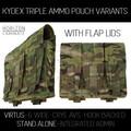 HL - VIRTUS Triple Kydex Magazine Pouch