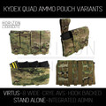 HL - VIRTUS Quad Kydex Magazine Pouch