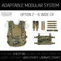 HL - AMS - Option 2 - 6 Wide Chest Rig