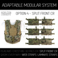HL - AMS - Option 4 - Split Front Chest Rig
