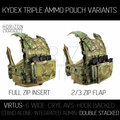 VIRTUS Triple Kydex - Double Stacked
