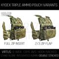 VIRTUS Triple Kydex - Parts