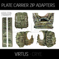 HL - Plate Carrier Zip Adapters - VIRTUS