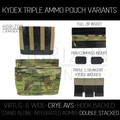 HL - CRYE Triple Kydex - Double Stacked