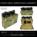 HL - Triple Kydex Pouch - Integrated Admin