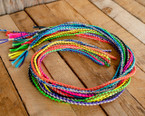 Nylon and Leather Braided Girls Goat Rope