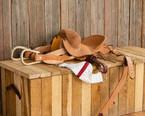 Jr. Saddle Bronc Saddle Complete Set