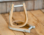 Wood Saddle Bronc Stirrups